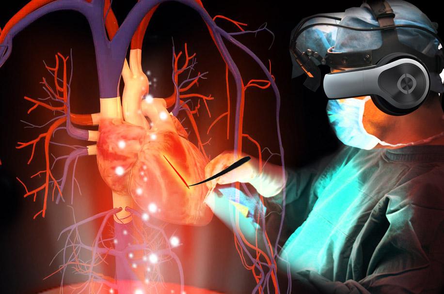 VR-симулятор с имитацией сердечно-сосудистой системы