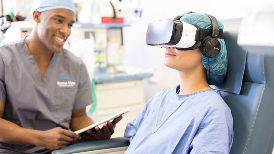Анестезия виртуальной реальностью