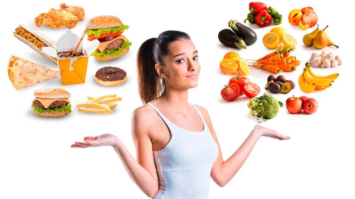 питание вредными продуктами